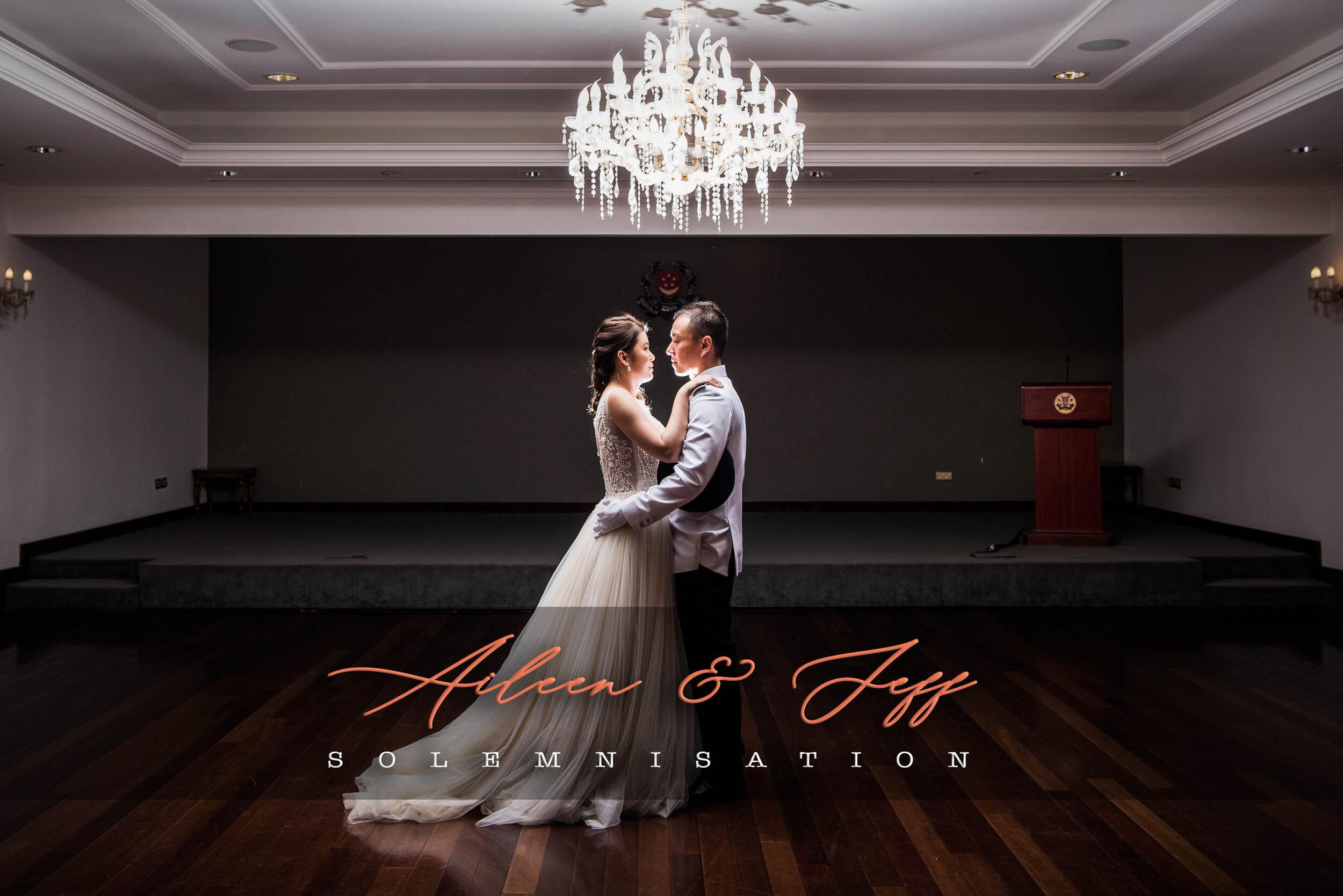 Singapore Solemnisation Photography Wedding Best
