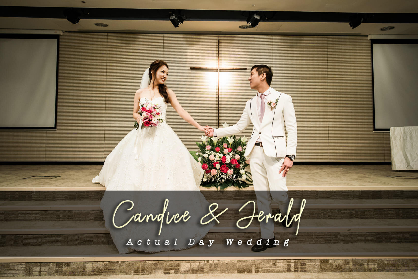 Singapore Church wedding photography & Joyden Hall banquet
