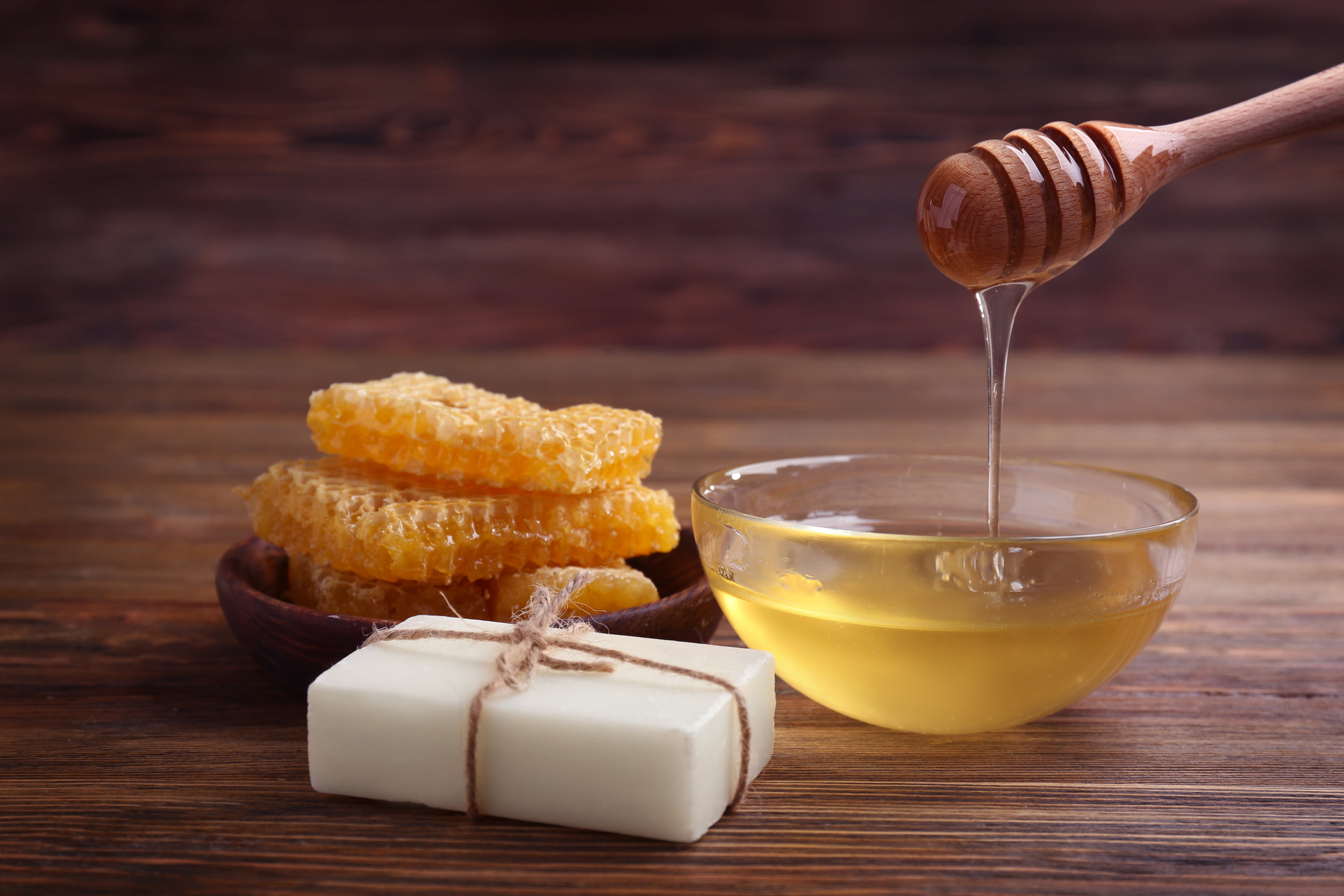 Make-your-own honey soap, using our 100% natural, raw NZ honey. -