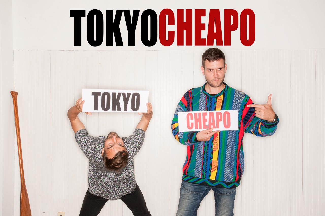 tokyo cheapo publication anniversary VIP party photobooth