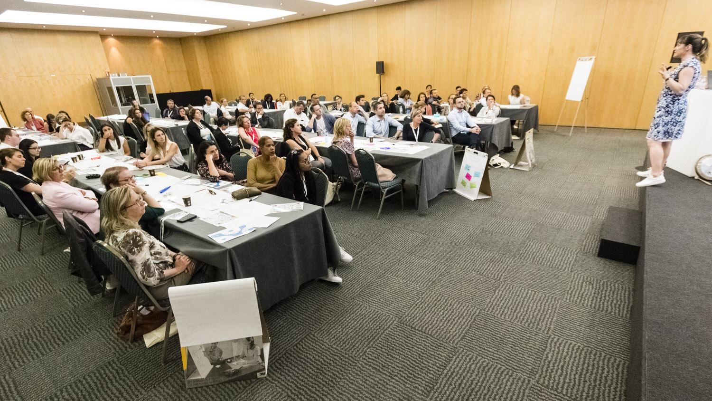 Taster session at Talentsoft conference Barcelona.