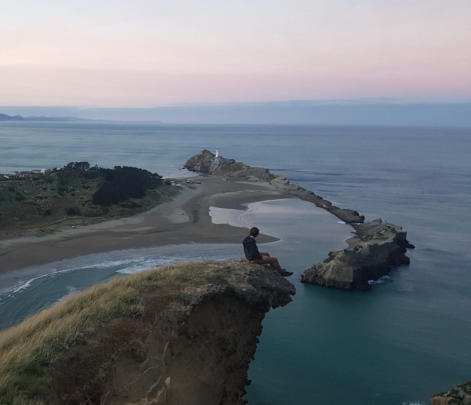 Scouting landscapes for inspiration - Castlepoint, New Zealand