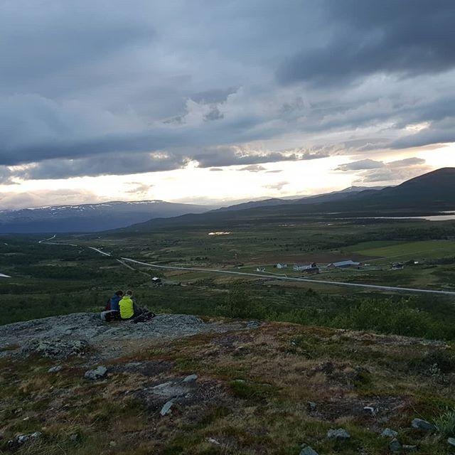 Elgsafari på elsykkel 😀 #visitdovrefjell