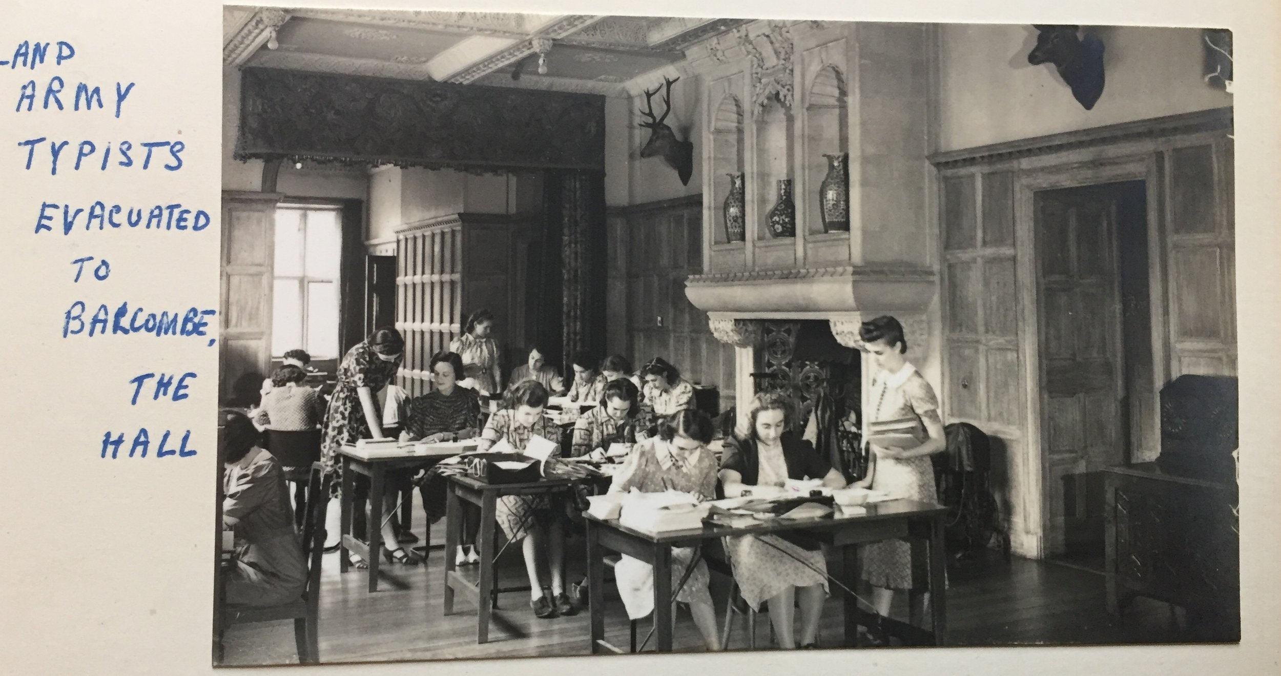 Balcombe Place transformed during WW2