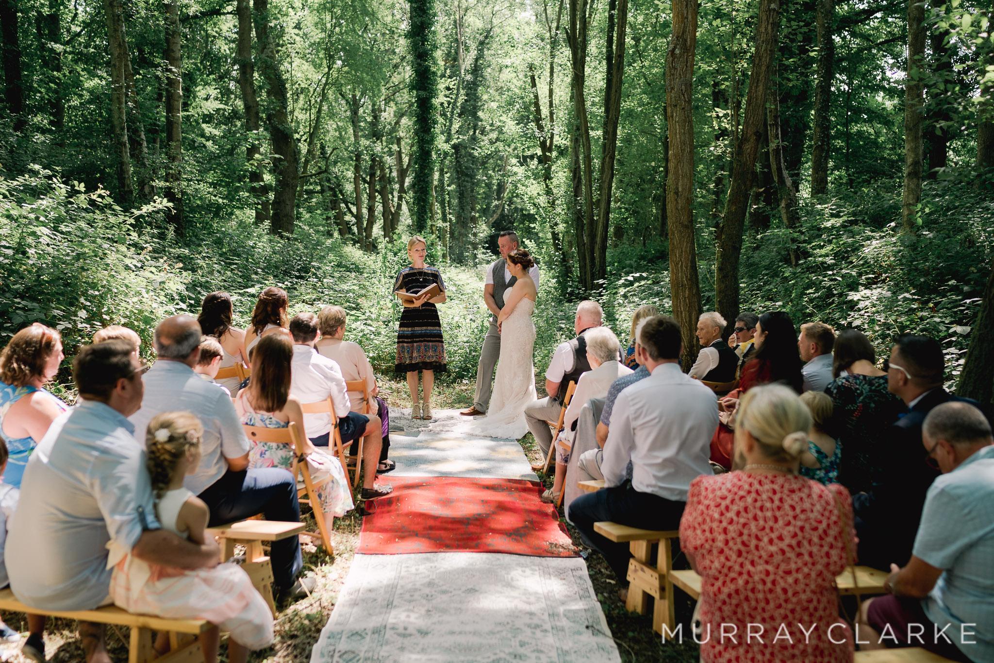 Outside wedding Hannah Osmond