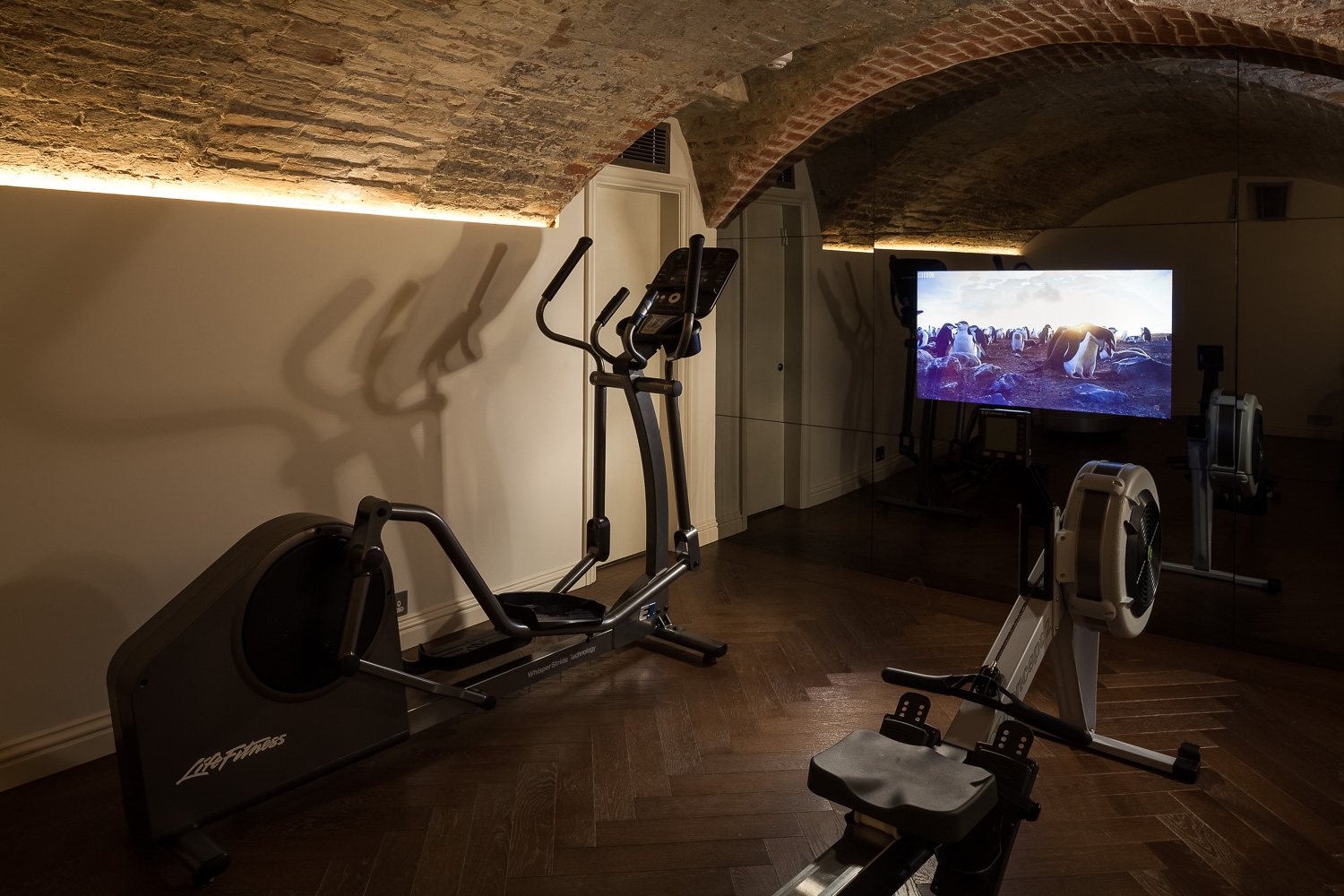 Country Manor - Basement Gym