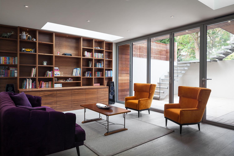Edwardian Glass House - Library