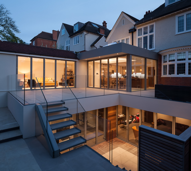 Edwardian Glass House - Rear Garden