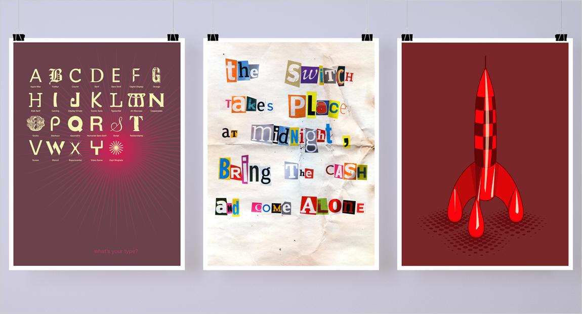 three Posters