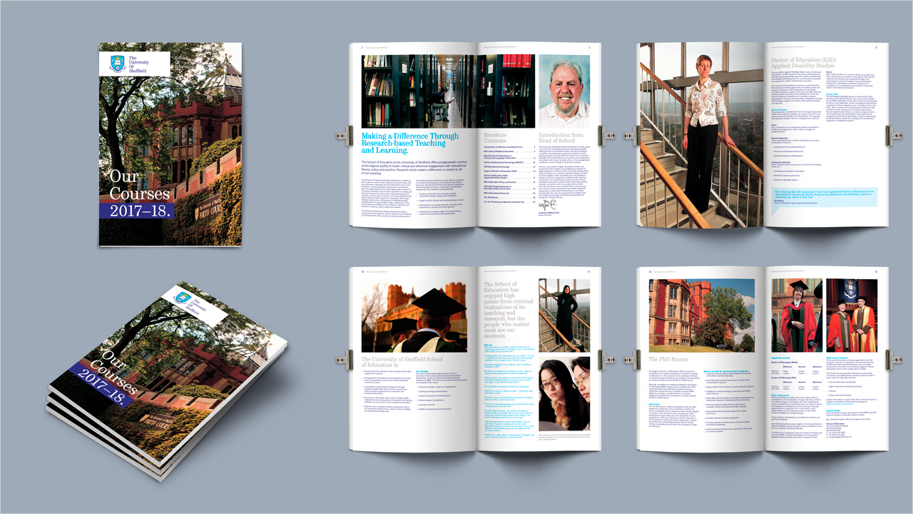 32 page brochure