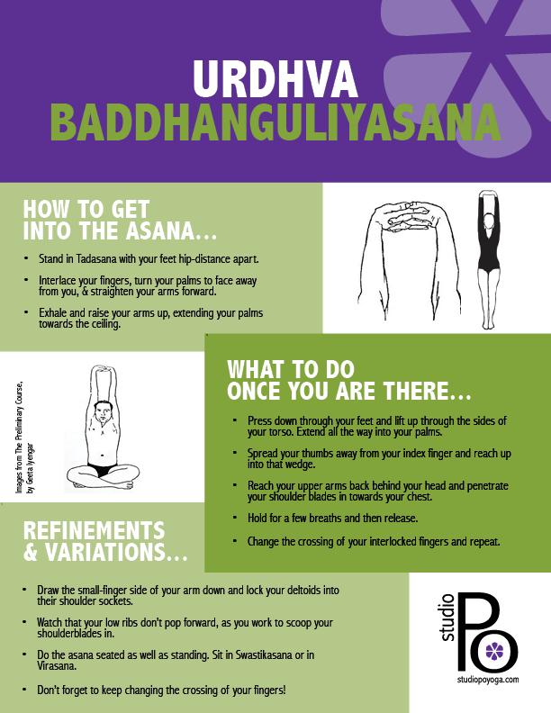 Postings Ponderings Urdhva Baddhanguliyasana Studio Po Iyengar Yoga