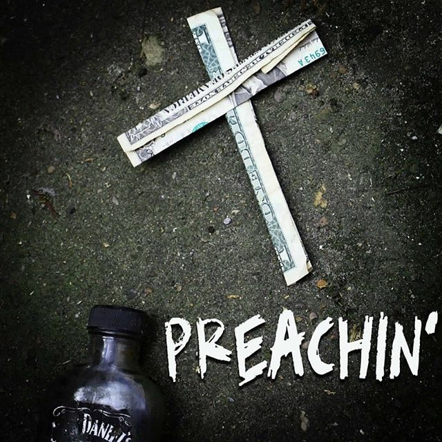 We release our debut single PREACHIN' on Good Friday- 19th April.  HOLY SHIT!
