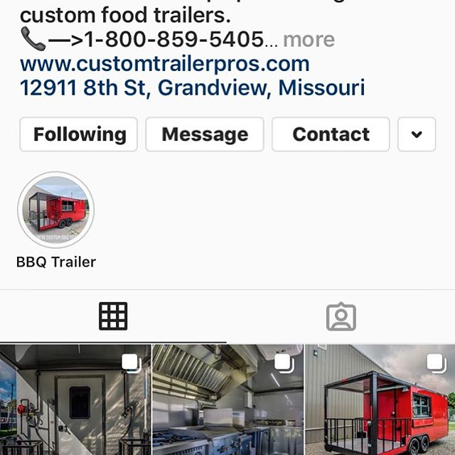 See some of our work at custom trailer pro. #food #foodtruck #foodtrailer