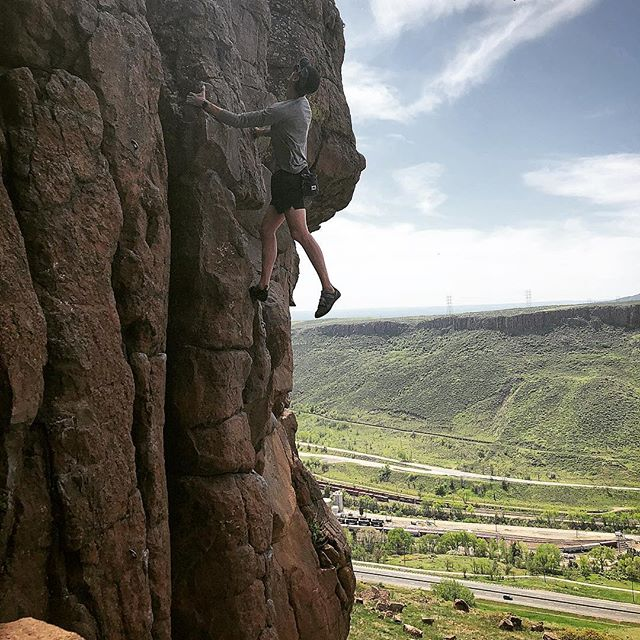 Another training day for my 24hour challenge . I've climbed a couple 20 pitch days in a row, with some light 10 pitch days thrown in for the harder routes. It's going to be a long 24 hours. May 19 is the day. Midnight to midnight...