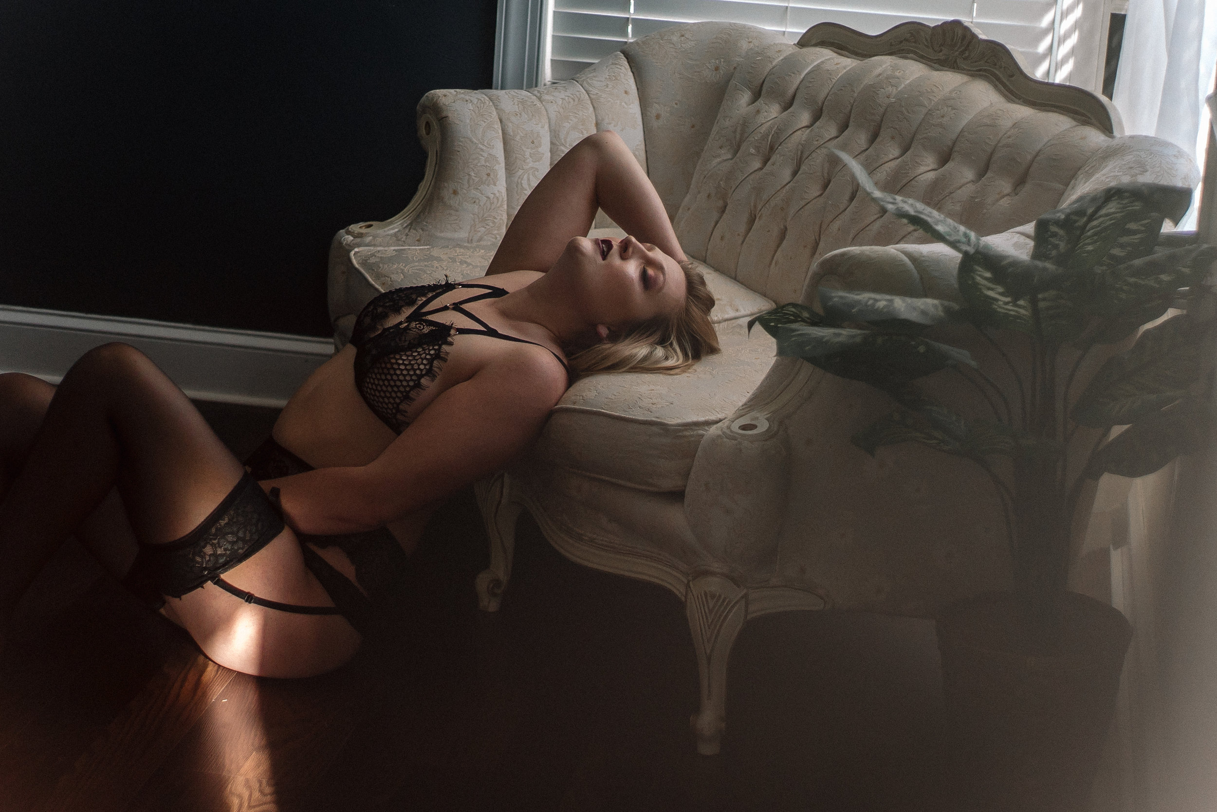 north carolina boudoir studio photography