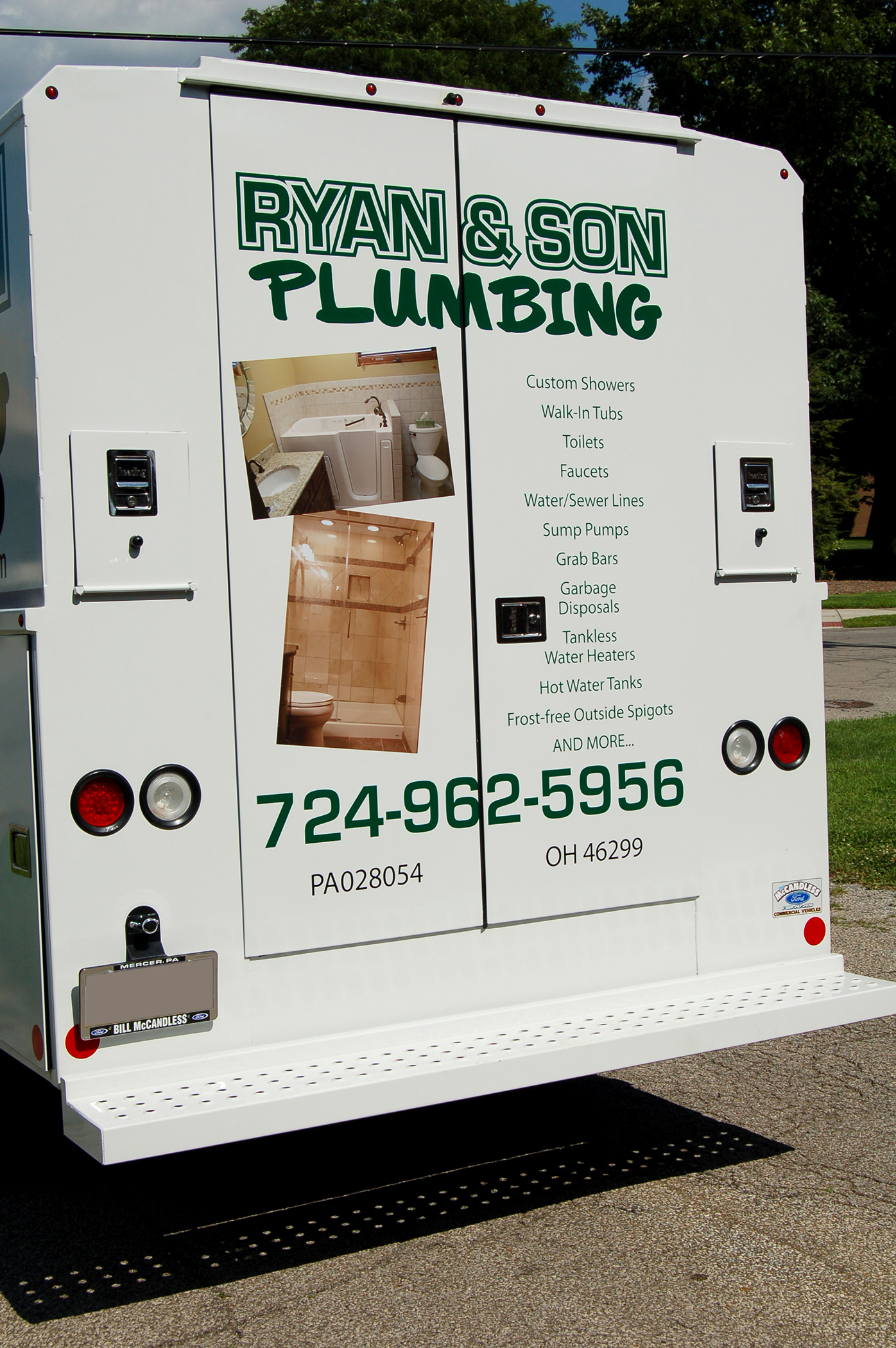 Client: Ryan & Son Plumbing