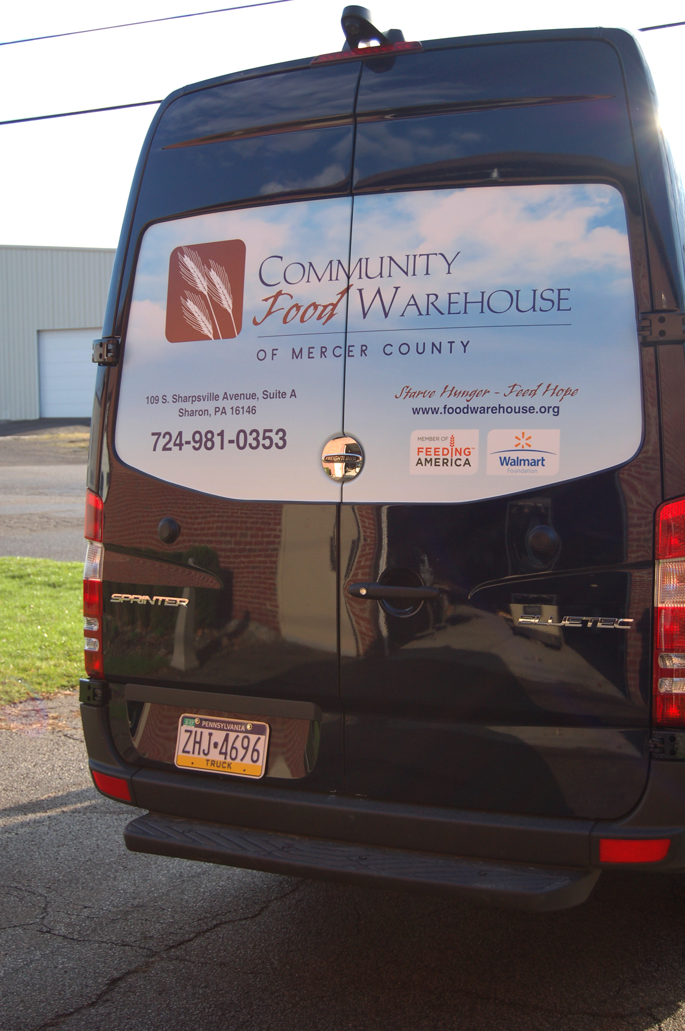 Client: Community Food Warehouse of Mercer County