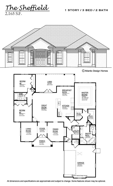 Floor Plans Atlantic Design Homes