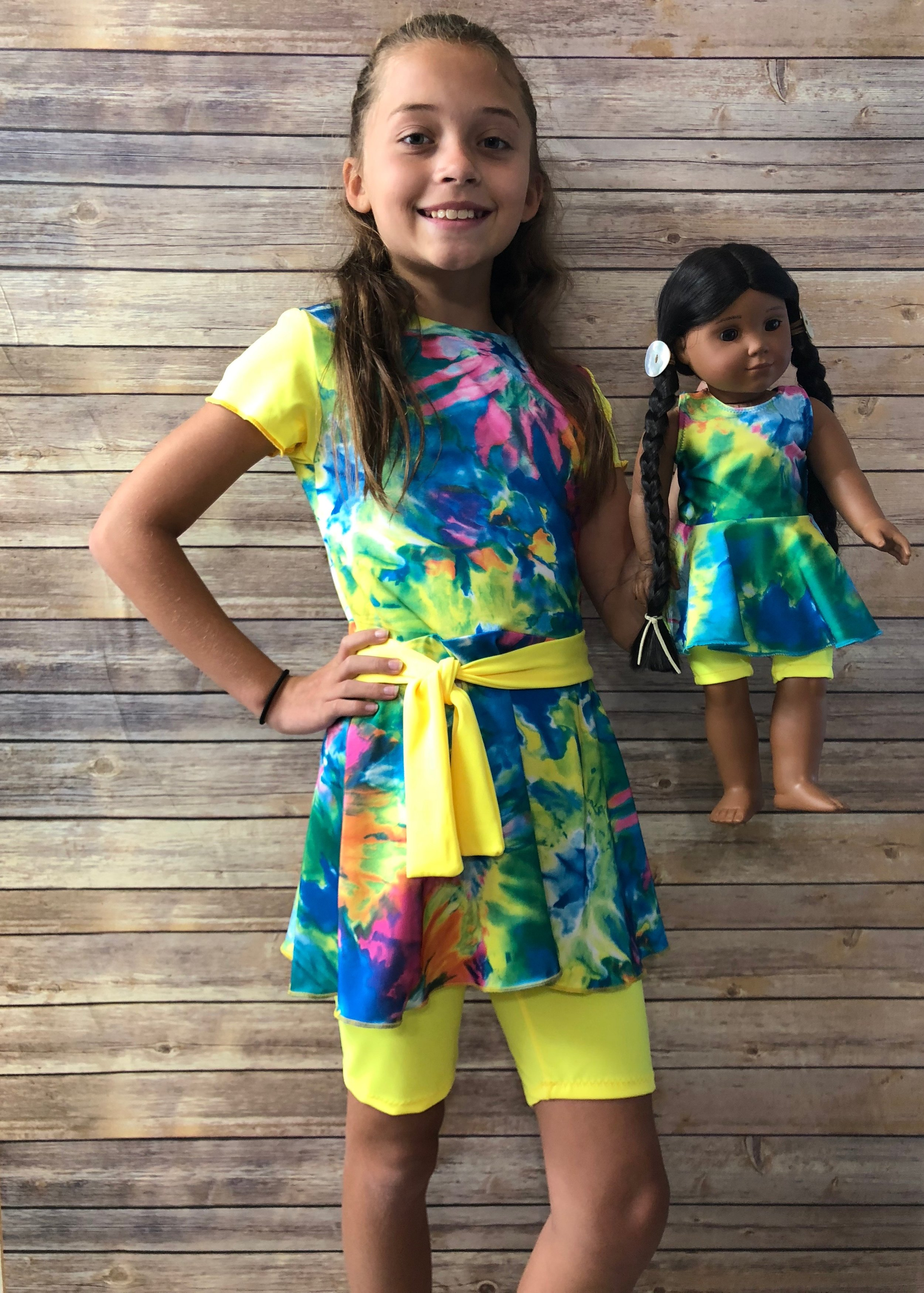 Matching doll swimsuit makes a great gift!