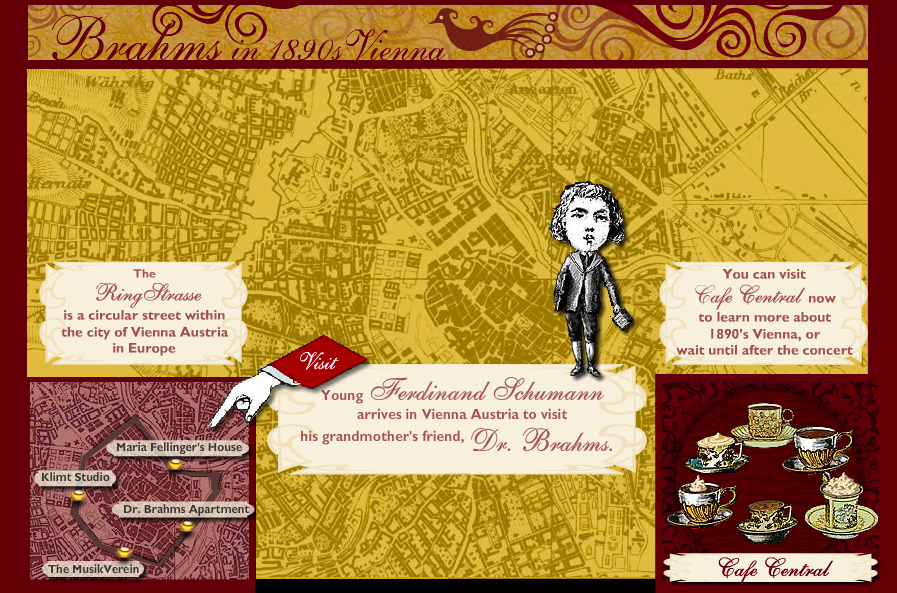 Brahms in 1890s Vienna Interactive