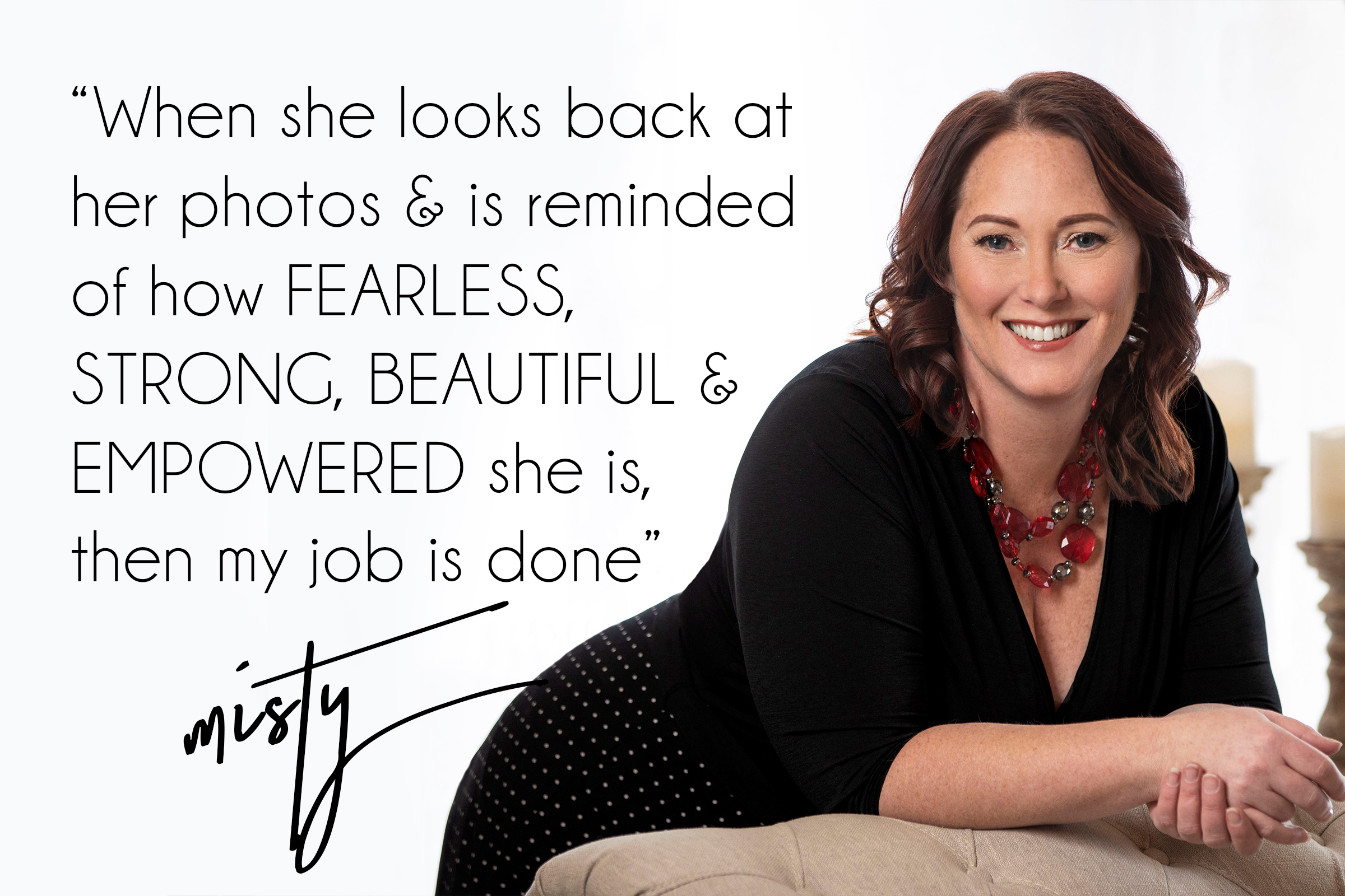 Quote by Misty Boles, Intimate Photographer in Helena Montana