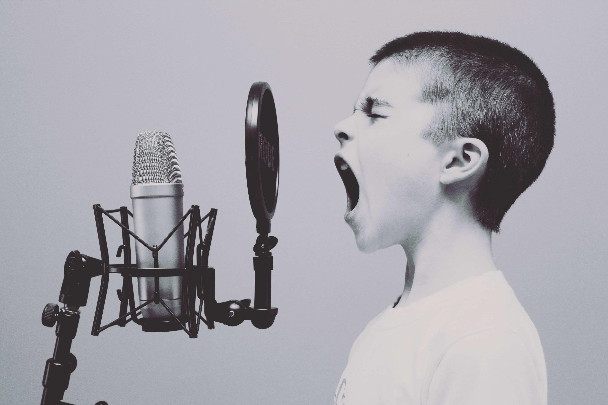 Be a voice not an echo -