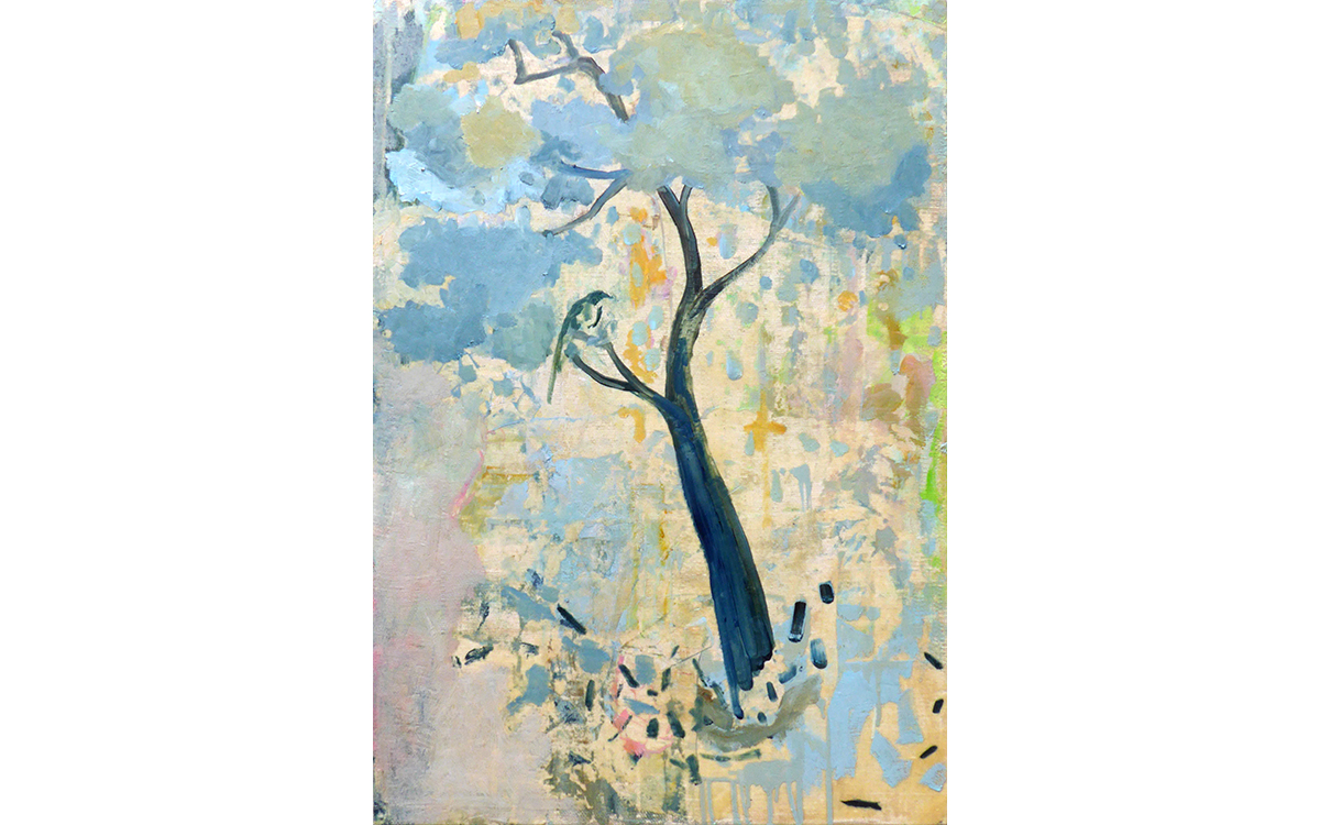 Tree and Bird in Livia's Garden