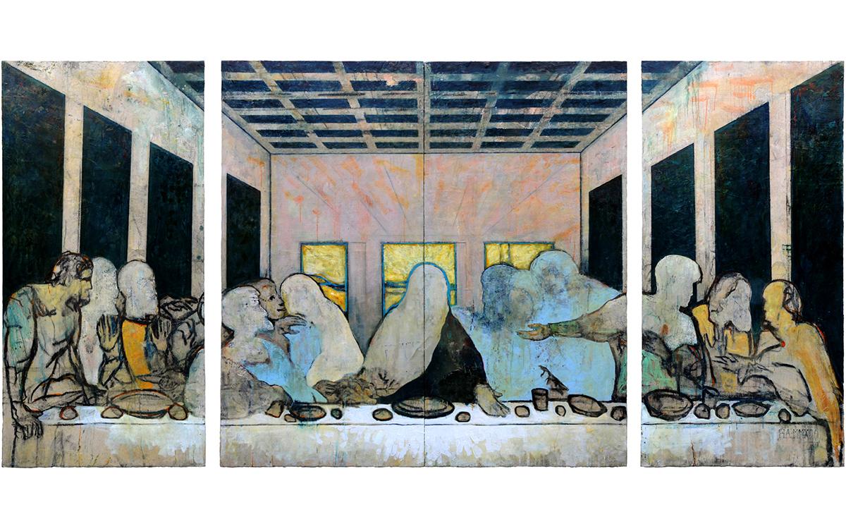 Our Last Supper (Mortal and Perishing Substances) (After Leonardo Da Vinci)
