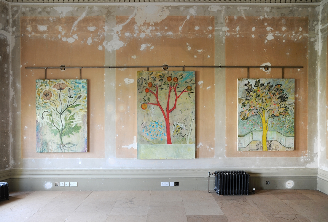 The Impossible Garden - John Marchant/Isis Galleryat The Regency Town HouseBrighton2014Click the image to view