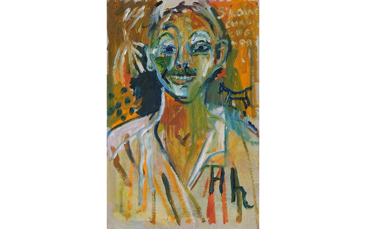 self portrait (after Larionov)