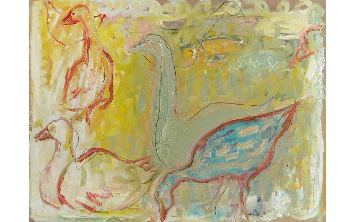 geese (after Larionov)
