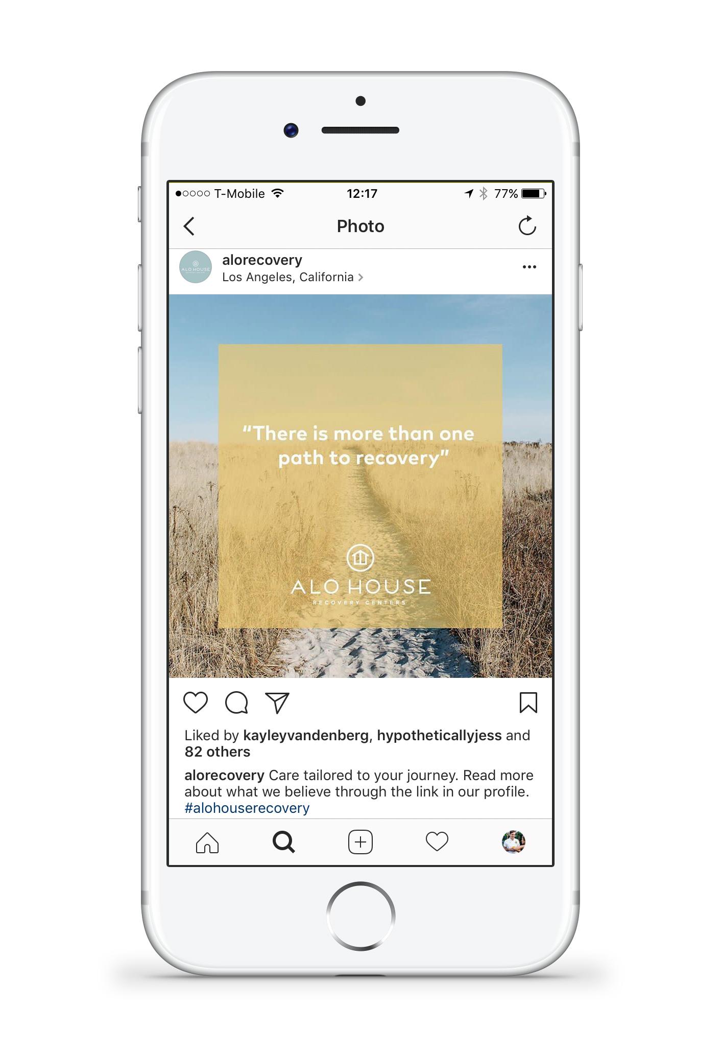 instagram.com/alorecovery