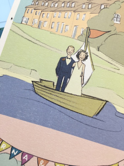 Designing Wedding and Party Invitations and tickets :Design and print.