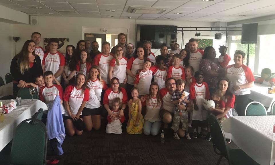 Aramex UK Family Sports Day