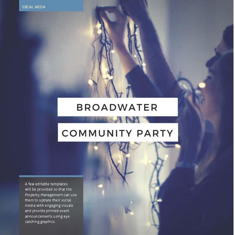 Page from broadwater social media plan