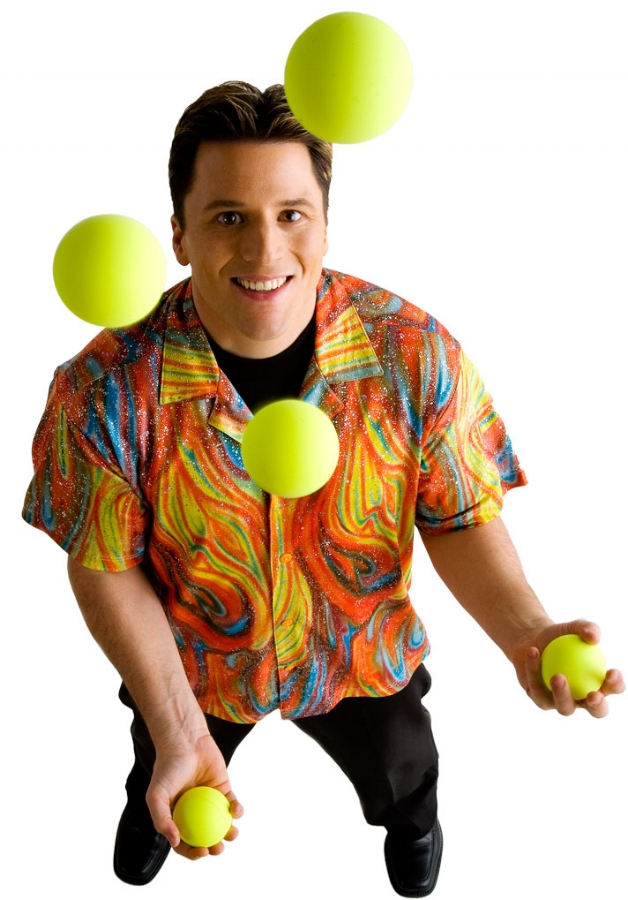 JUGGLER - Amaze your guests with a skilled juggler. Guests of all ages will enjoy the old country charm and athleticism in each performance.