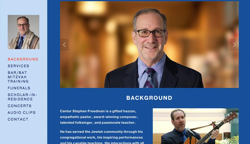 Click Here - Cantor Stephen Freedman
