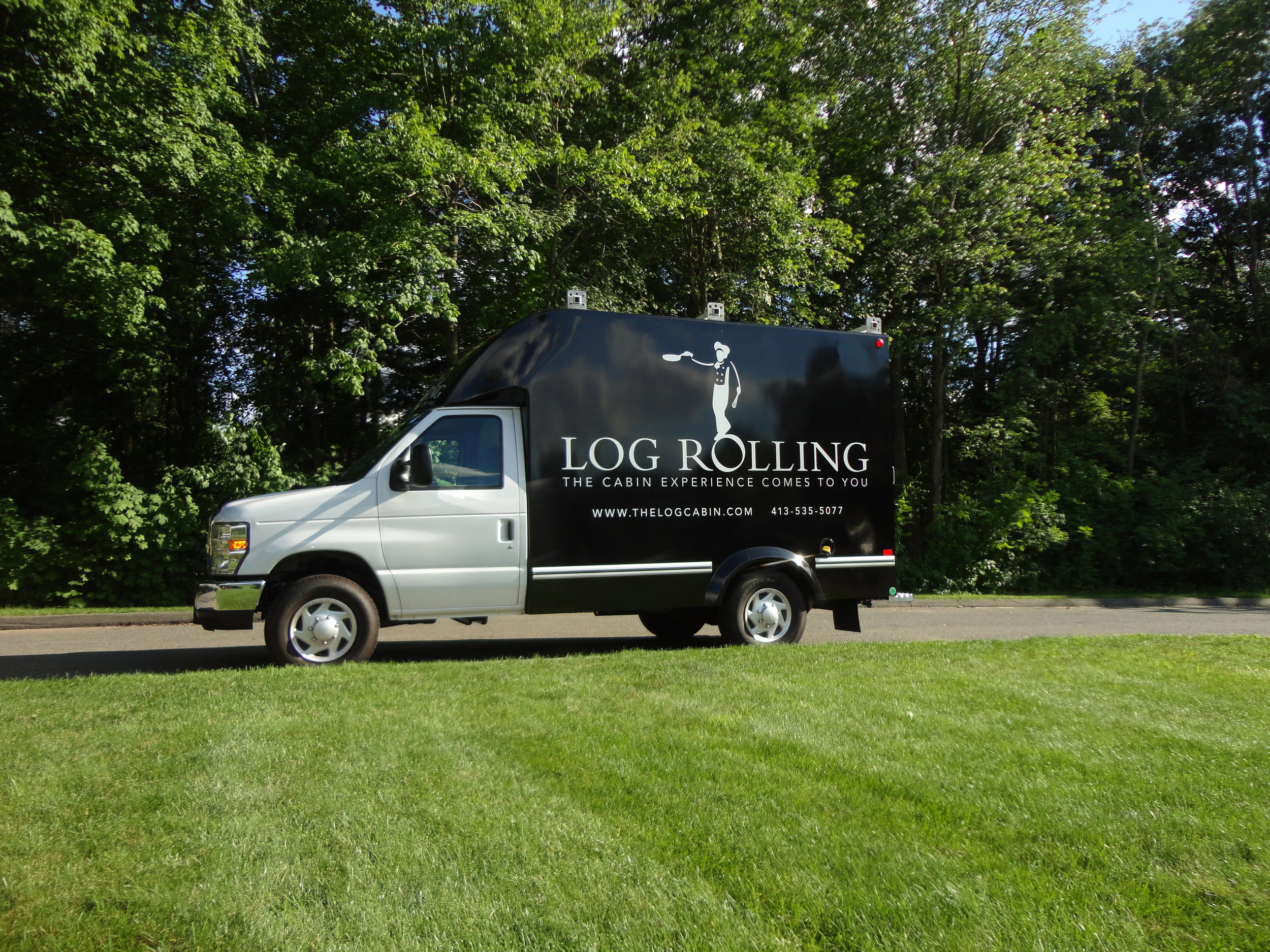 Delaney Log Cabin - Log Rolling Box Truck 7.11.14 (4).jpg