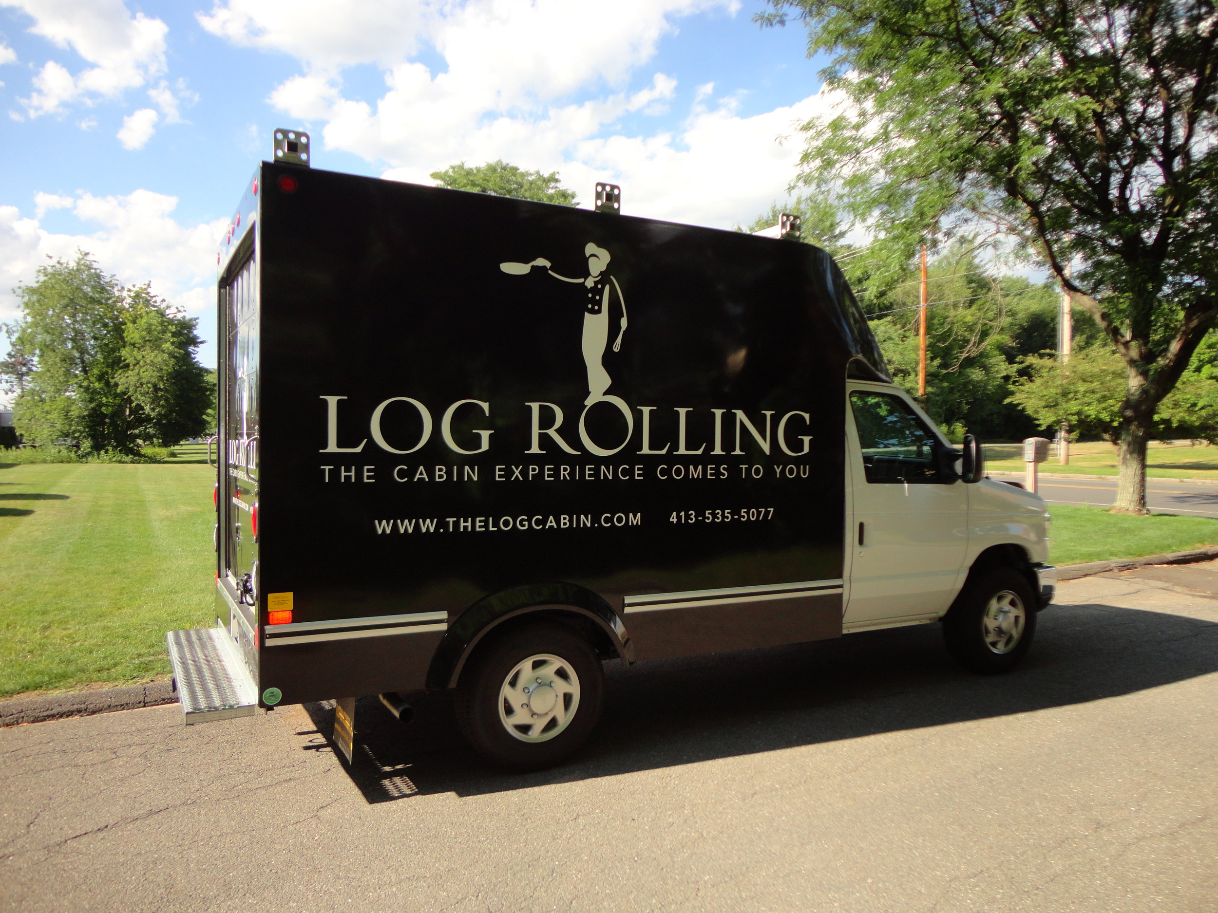 Delaney Log Cabin - Log Rolling Box Truck 7.11.14 (9).jpg