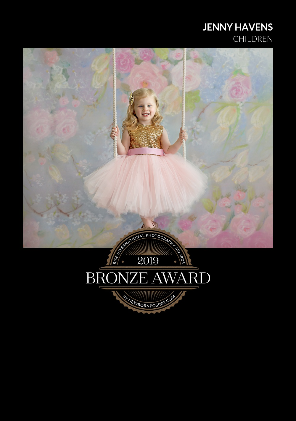 2019 Rise International Photography Award - Bronze Winner - Children Category -