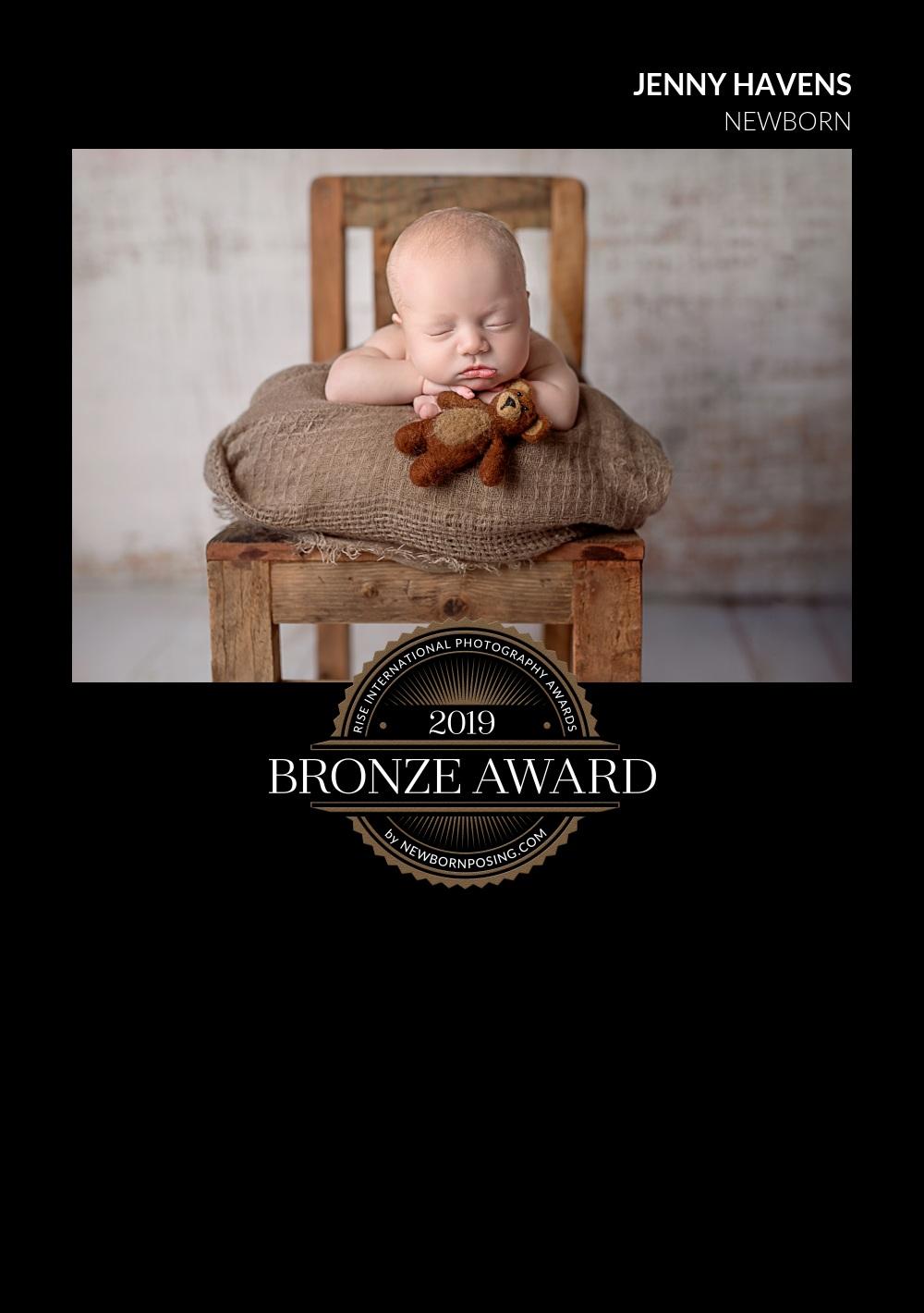 2019 Rise International Photography Award - Bronze Winner - Newborn Category -