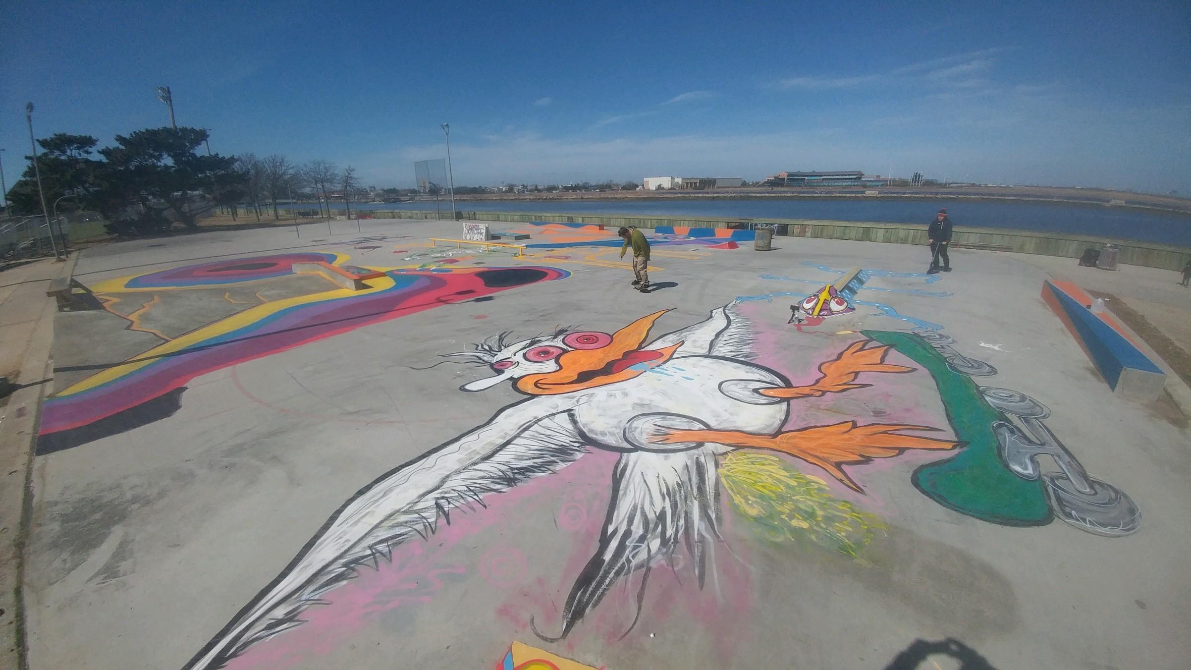 back sov skatepark - Atlantic City, NJ