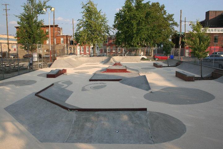 Pops skatepark - Philadelphia, PA