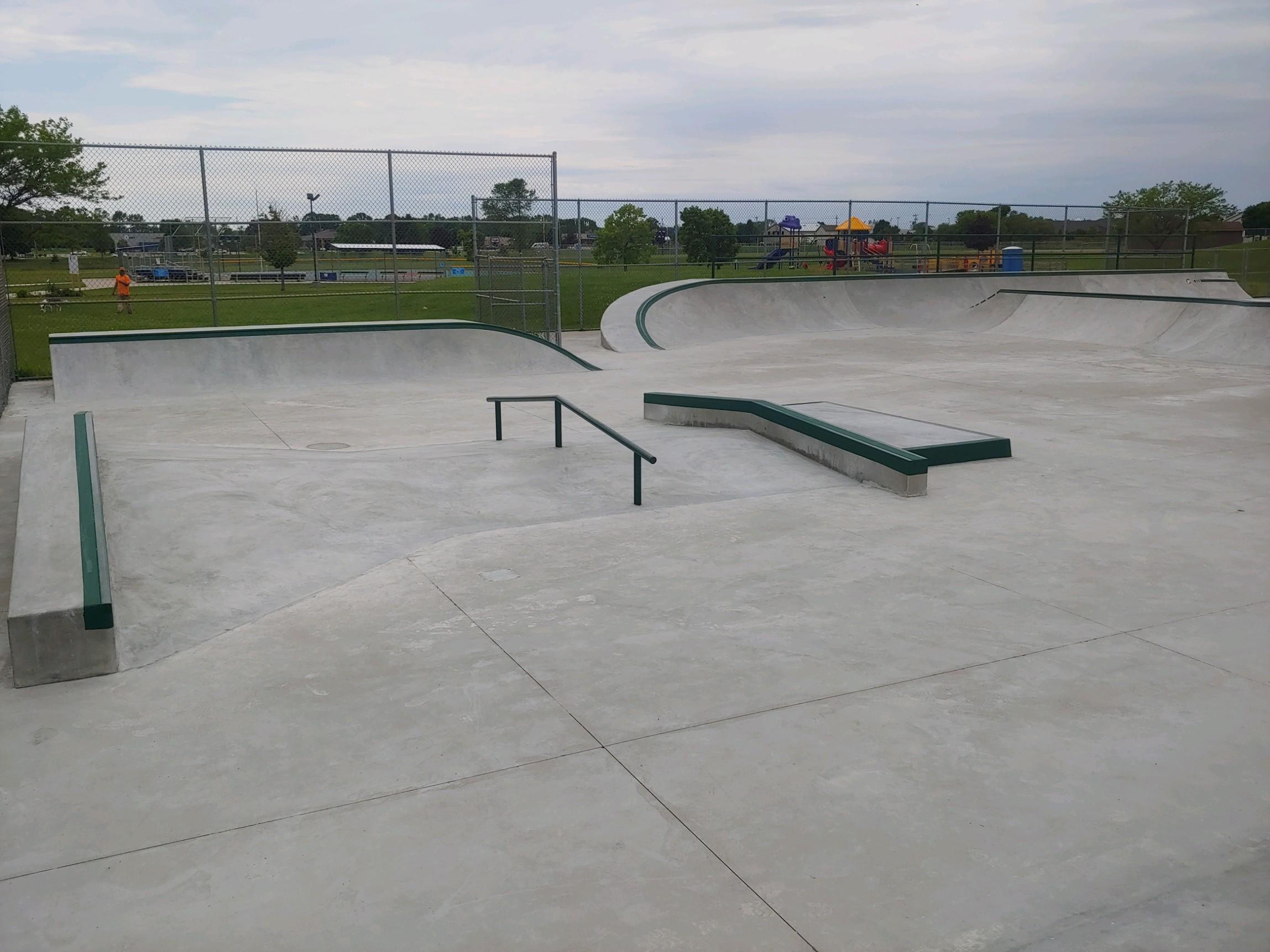 manitowoc Skatepark - Manitowoc, WI