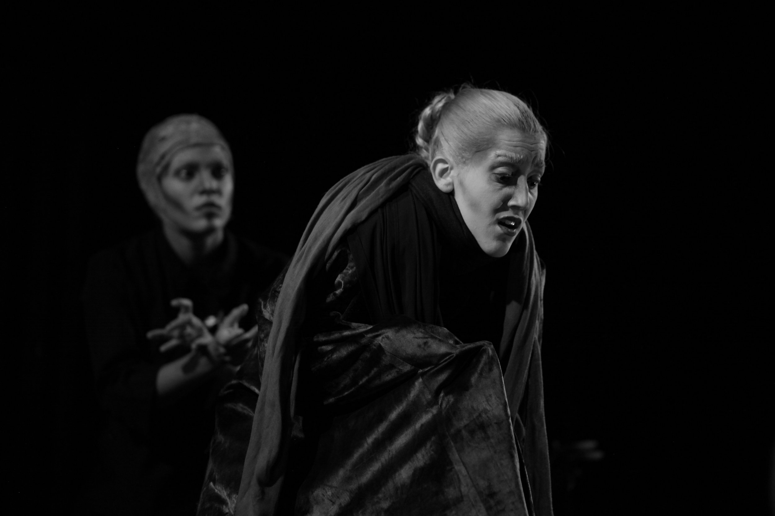 Dead Hamlet, Ofelia.  Foto S.E.D. El Apuntador