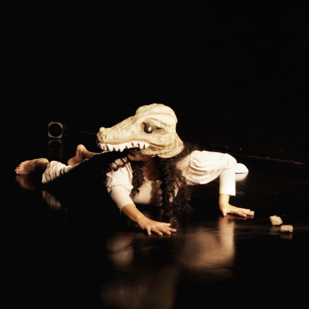 La canoera, Delia Pin. Foto cortesía Morena Sánchez Sala Mandrágora