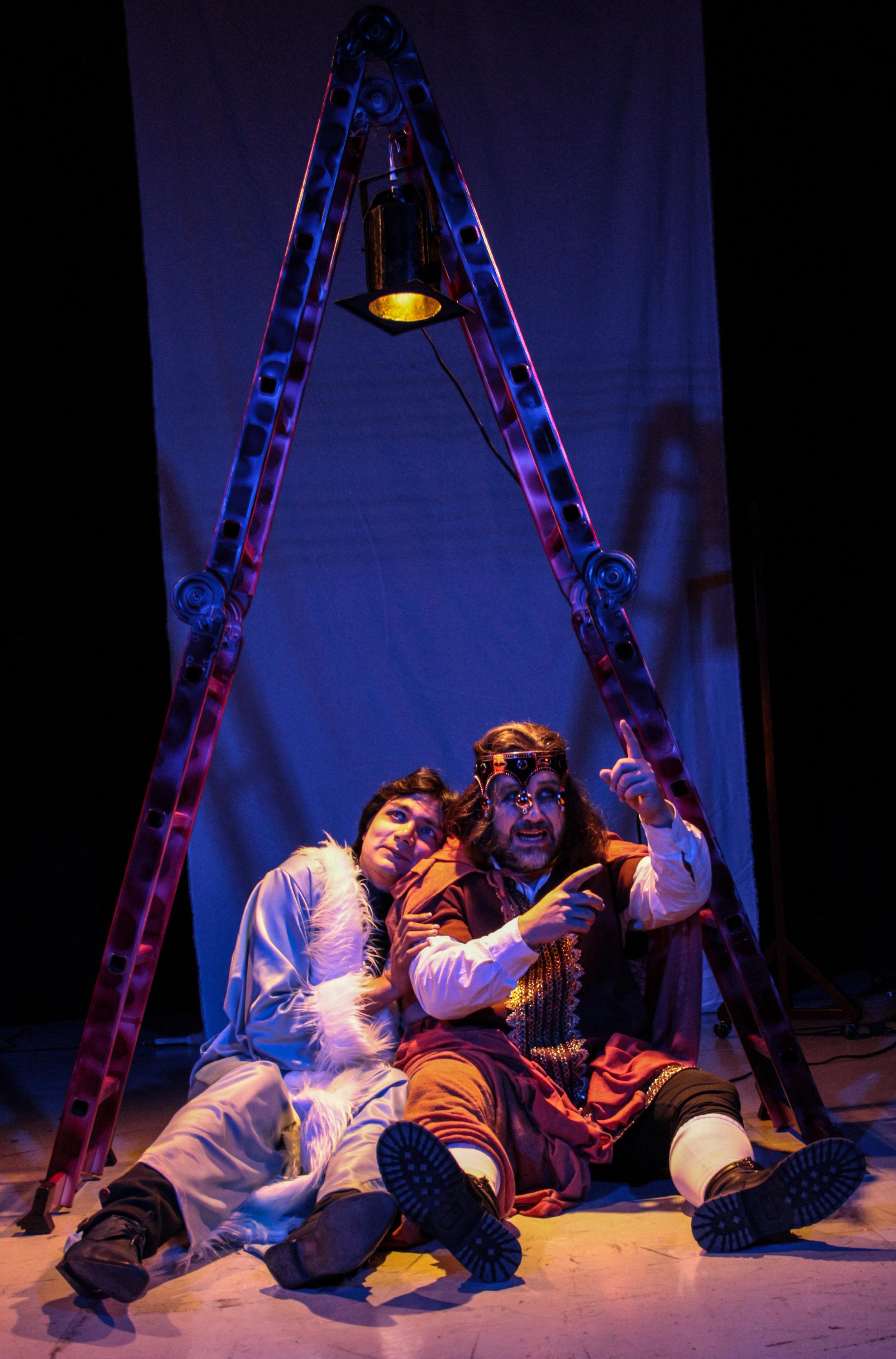 Sueños de actores de reparto.  Steven Góngora/ Martin Varea. foto Luis Cadena