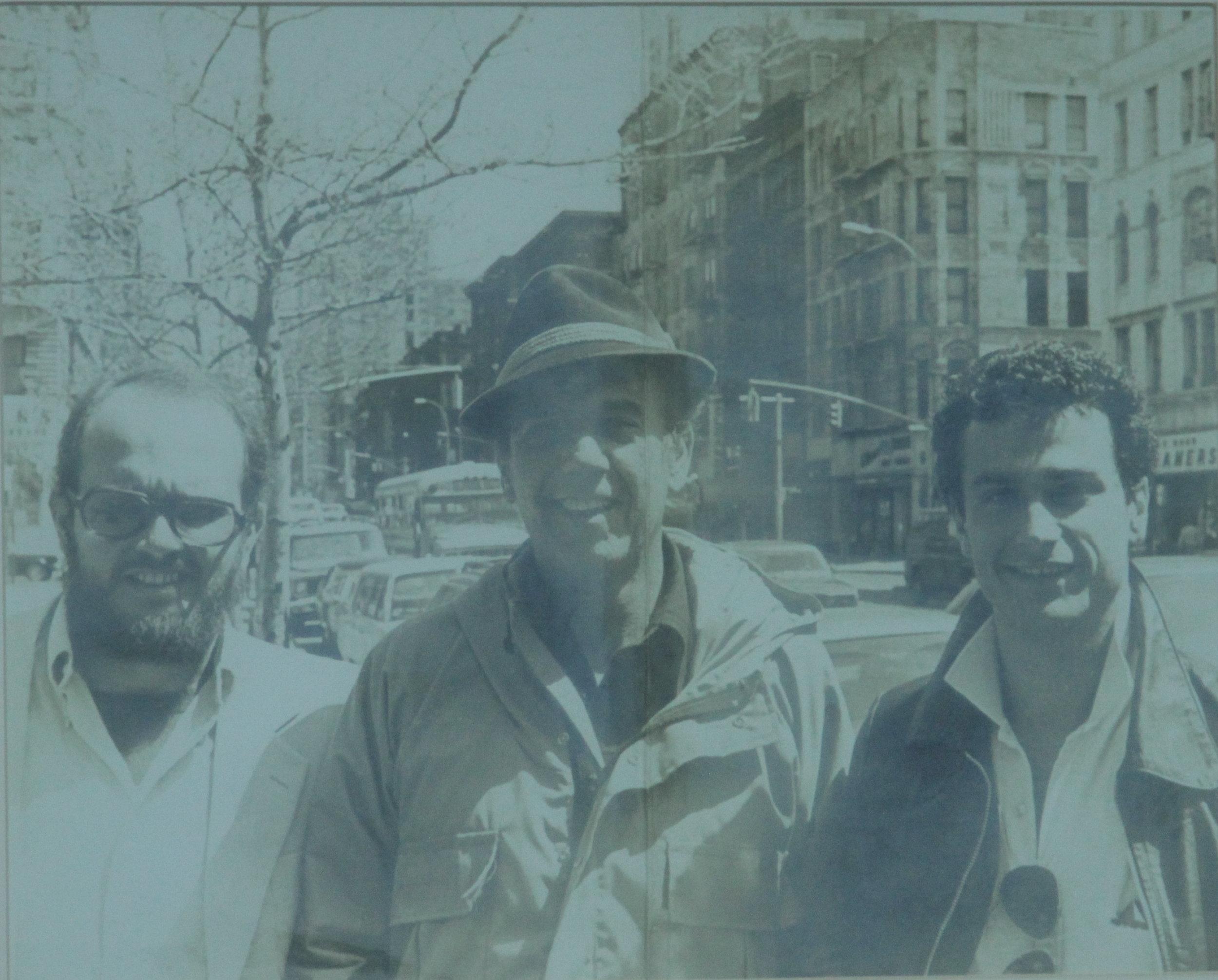 Carlos Ycaza Paulson, presidente Fundación Albert Paulsen. Albert Paulsen, Billy Paulsen.