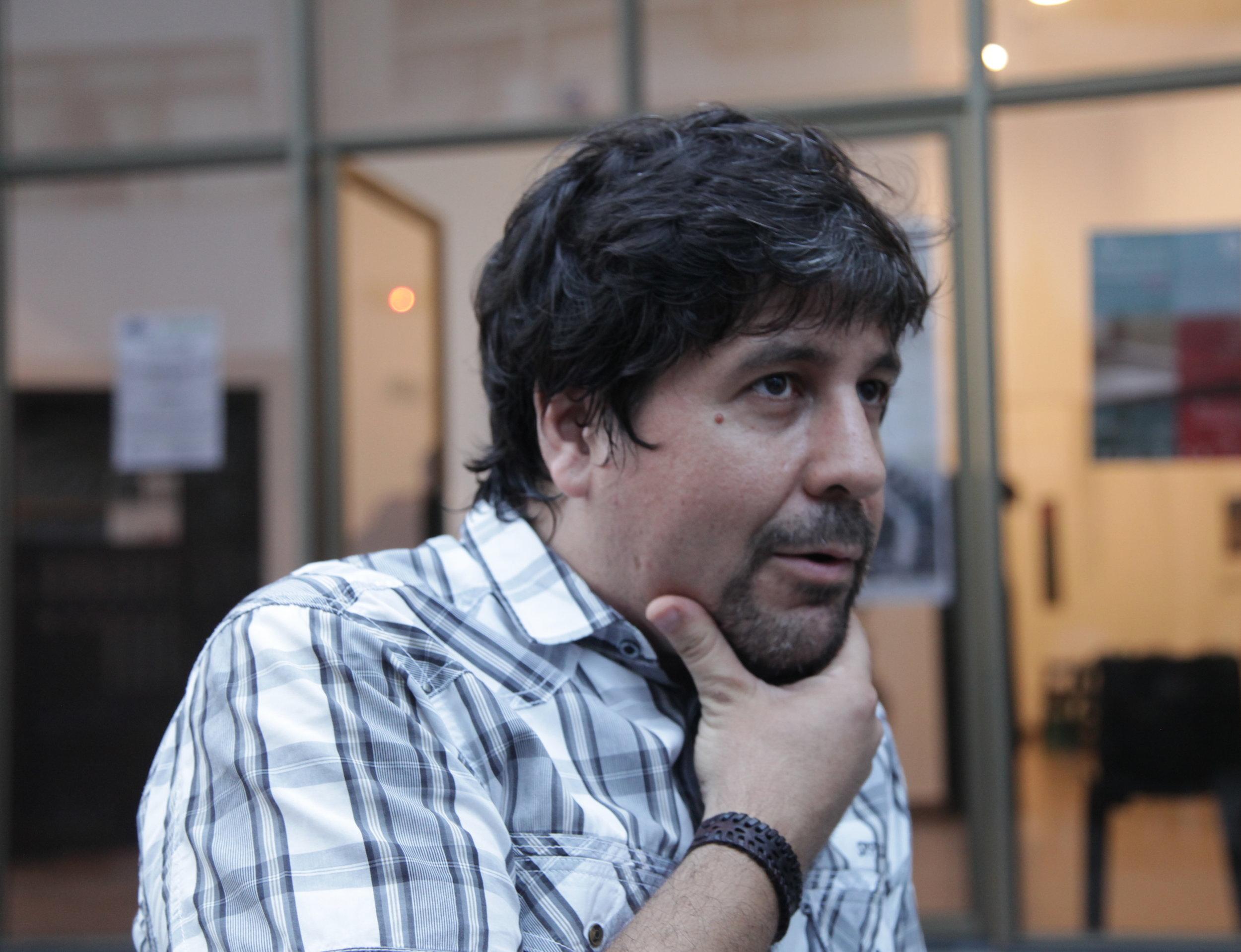 Santiago Roldós. Fotos Silvia Echevarria El Apuntador