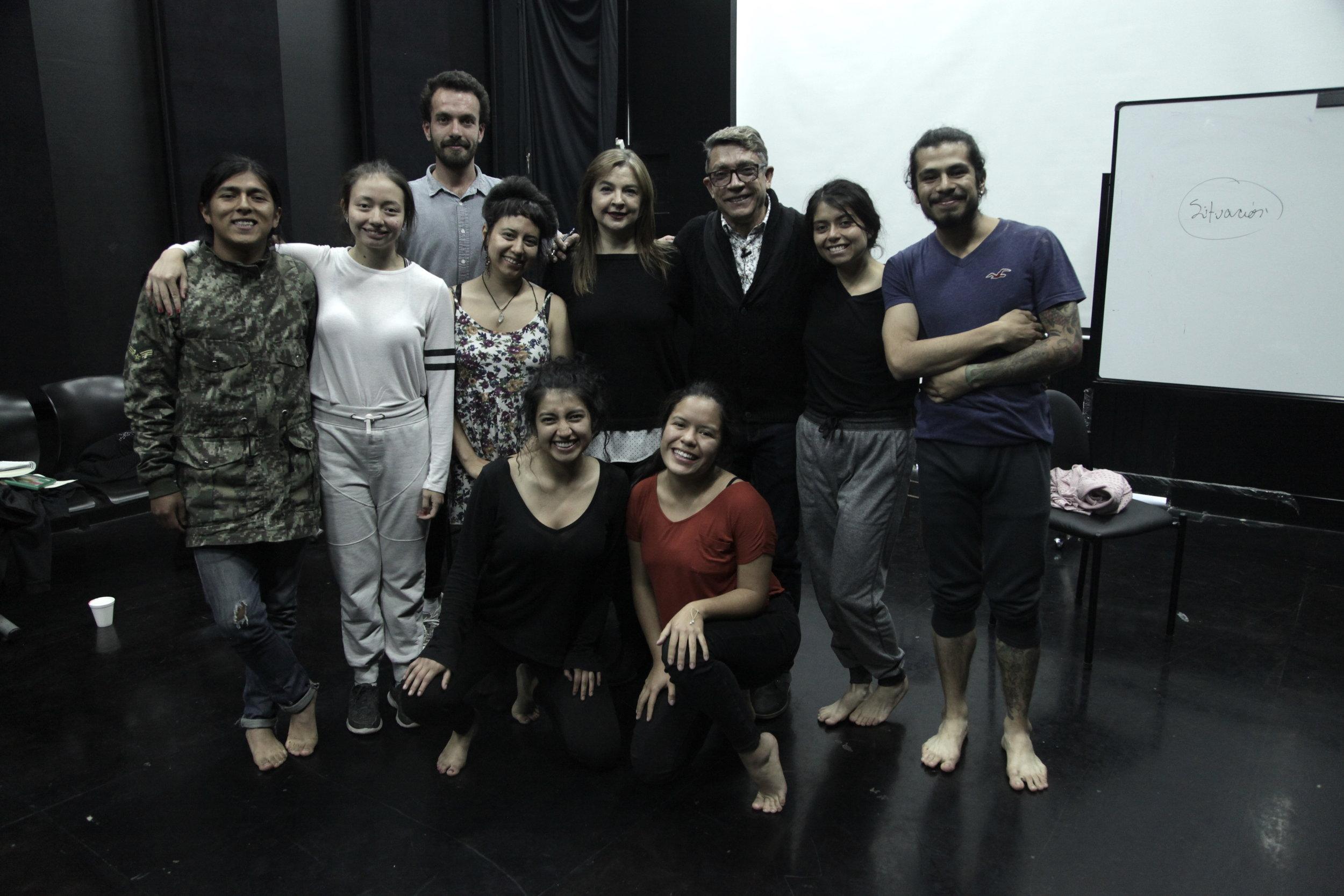 Taller sobre dramaturgia. Foto. Silvia Echevarria El Apuntador
